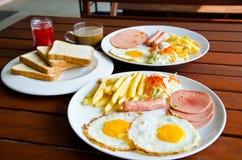 Café da manhã americano Foto de Stock Royalty Free