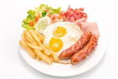 Café da manhã americano Fotografia de Stock Royalty Free
