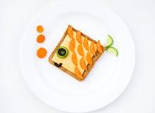 Café da manhã bonito da manhã Imagens de Stock Royalty Free