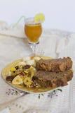 Café da manhã da manhã Foto de Stock Royalty Free