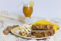 Café da manhã da manhã Imagem de Stock Royalty Free