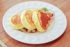 Café da manhã da panqueca imagem de stock