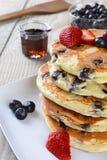 Café da manhã da panqueca Fotos de Stock Royalty Free