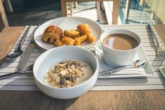 Café da manhã da refeição clara Fotografia de Stock Royalty Free