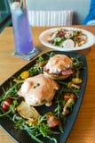 Café da manhã de Benedict do ovo Imagens de Stock Royalty Free