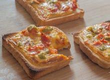 Café da manhã de Crostini fotografia de stock