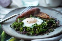 Café da manhã de Paleo fotografia de stock
