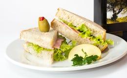 Café da manhã delicioso Foto de Stock