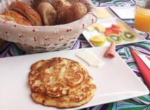 Café da manhã delicioso do hotel Imagem de Stock Royalty Free