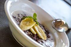 Café da manhã do Balinese imagem de stock