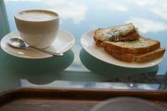 Café da manhã do céu imagens de stock