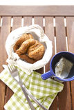 Café da manhã do chá Imagem de Stock