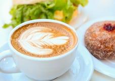 Café da manhã do negócio imagens de stock