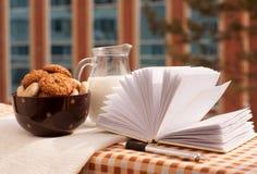 Café da manhã do negócio Fotos de Stock Royalty Free