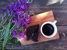 Café da manhã do verão no ar livre Imagens de Stock