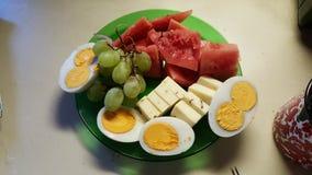 Café da manhã dos campeões Imagens de Stock