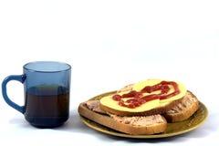 Café da manhã dos pobres Fotos de Stock Royalty Free
