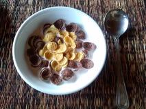 Café da manhã e alimento Imagem de Stock