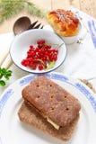 Café da manhã finlandês Fotos de Stock Royalty Free