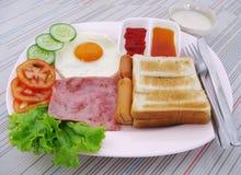 Café da manhã importante Fotografia de Stock Royalty Free