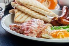 Café da manhã inglês fresco fotos de stock