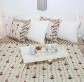 Café da manhã na cama! Imagem de Stock Royalty Free