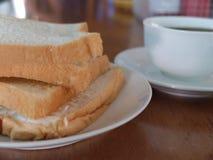 Café da manhã na manhã Fotografia de Stock Royalty Free