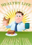 Café da manhã na manhã Fotos de Stock