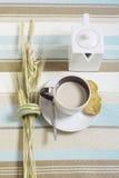 Café da manhã natural fotografia de stock