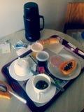 Café da manhã no hospital Fotos de Stock