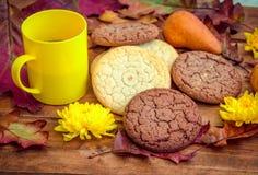 Café da manhã ou petisco doce do outono Imagem de Stock