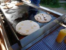 Café da manhã da panqueca foto de stock royalty free