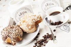 Café da manhã para o dia de easter imagens de stock royalty free