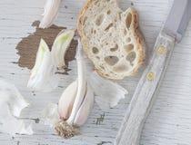 Café da manhã rústico - close up Imagens de Stock