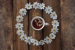 Café da manhã romântico rústico fotografia de stock royalty free