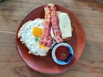 Café da manhã saboroso fácil imagem de stock royalty free