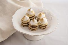 Café da manhã saboroso da sobremesa de dulce de leche fotos de stock