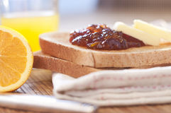 Café da manhã saudável Foto de Stock Royalty Free