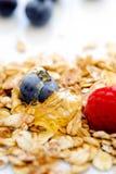 Café da manhã saudável da aveia Fotografia de Stock