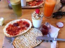 Café da manhã saudável doce Imagem de Stock
