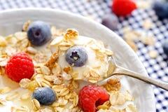 Café da manhã saudável orgânico Foto de Stock