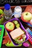 Café da manhã saudável para a escola Fotos de Stock