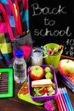 Café da manhã saudável para a escola Foto de Stock