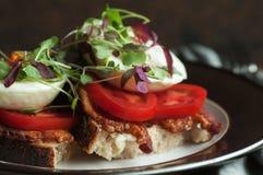 Café da manhã Tartine Fotos de Stock