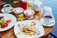 Café da manhã tradicional do Balinese Fotografia de Stock Royalty Free