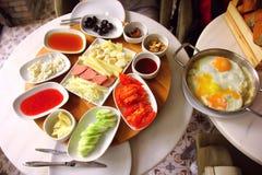 Café da manhã tradicional do turco Fotos de Stock