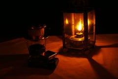 Café da noite na cidade antiga de Hoi An Foto de Stock Royalty Free