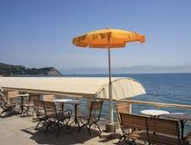 Café da praia Foto de Stock