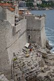 Café da praia de Buze foto de stock royalty free