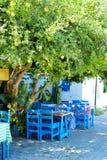 Café da vila fotos de stock royalty free
